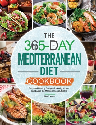 The 365-Day Mediterranean Diet Cookbook Cover Image
