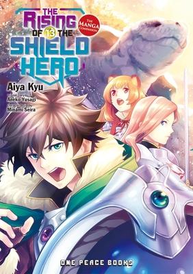 The Rising of the Shield Hero Volume 13: The Manga Companion Cover Image
