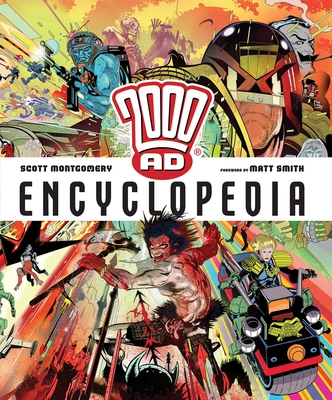 2000 AD Encyclopedia Cover Image