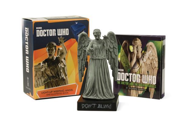 Doctor Who: Light-Up Weeping Angel and Illustrated Book (RP Minis) Cover Image