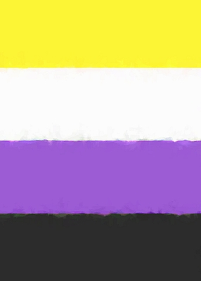 Nonbinary Pride Flag Sketchbook Cover Image