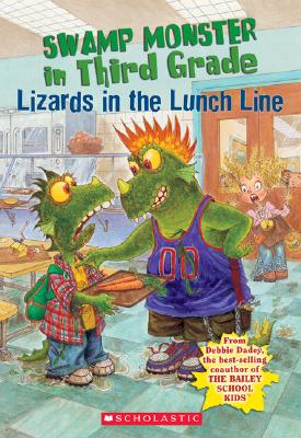 Swamp Monster In Third Grade #2 Cover
