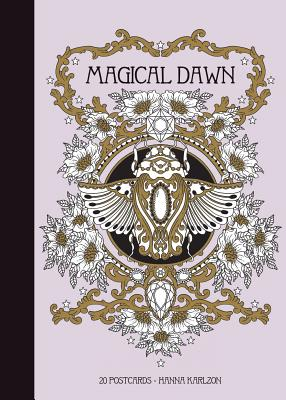 Magical Dawn 20 Postcards: Published in Sweden as