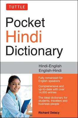 Tuttle Pocket Hindi Dictionary: Hindi-English English-Hindi (Fully Romanized) Cover Image