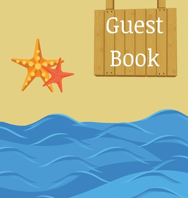 Guest Book for vacation home (hardcover) Cover Image