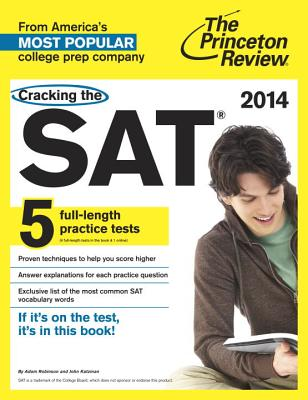 Cracking the SAT Cover