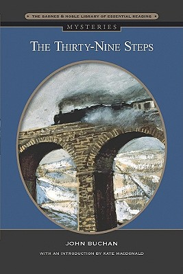Cover for The Thirty-Nine Steps (Barnes & Noble Library of Essential Reading)
