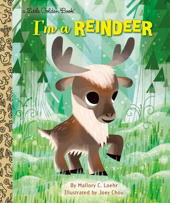 I'm a Reindeer (Little Golden Book) Cover Image