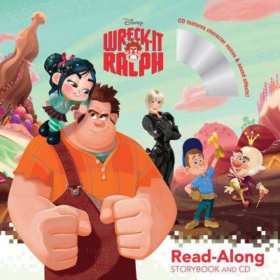 Wreck-It Ralph Read-Along Storybook and CD Cover
