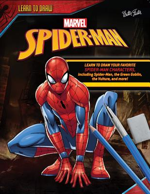Cover for Learn to Draw Marvel Spider-Man