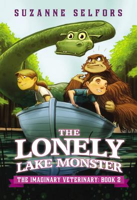 The Lonely Lake Monster (The Imaginary Veterinary #2) Cover Image