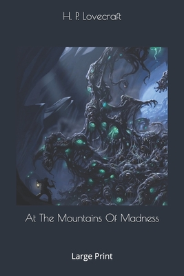 At The Mountains Of Madness: Large Print Cover Image
