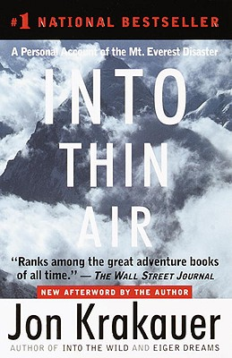 Into Thin Air: A Personal Account of the Mount Everest Disaster Cover Image