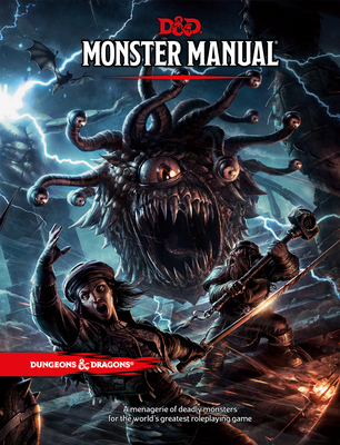 Dungeons & Dragons Monster Manual (Core Rulebook, D&D Roleplaying Game) Cover Image