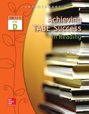 Achieving Tabe Success in Reading, Level D Workbook (Achieving Tabe Success for Tabe 9 & 10) Cover Image