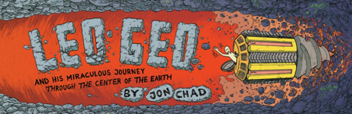 Cover for Leo Geo and His Miraculous Journey Through the Center of the Earth