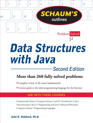 Cover for Schaum's Outline of Data Structures with Java (Schaum's Outlines)