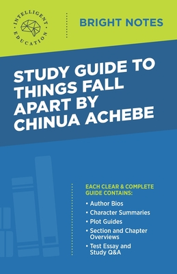 Study Guide to Things Fall Apart by Chinua Achebe Cover Image