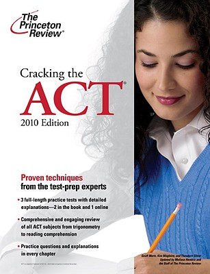 Cracking the ACT, 2010 Edition Cover Image