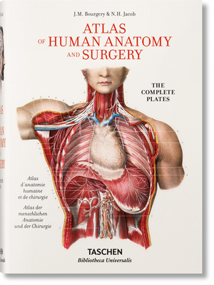 Jean Marc Bourgery. Atlas of Human Anatomy and Surgery Cover Image