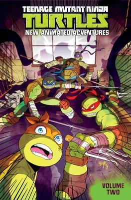 Teenage Mutant Ninja Turtles: New Animated Adventures Volume 2 (TMNT New Animated Adventures #2) Cover Image