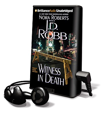 Witness in Death [With Headphones] (Playaway Adult Fiction) Cover Image