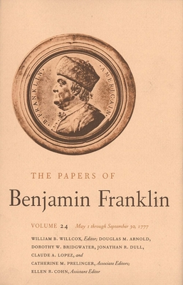 Cover for The Papers of Benjamin Franklin, Vol. 24