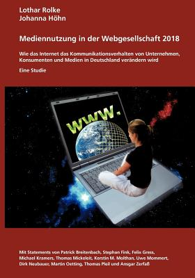 Cover for Medienutzung in Der Webgesellschaft 2018