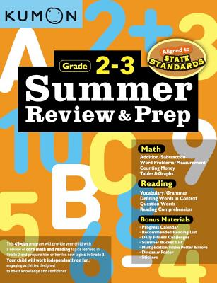 Summer Review and Prep 2-3 Cover Image