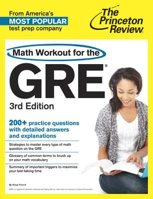 Math Workout for the GRE Cover