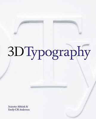 3D Typography Cover