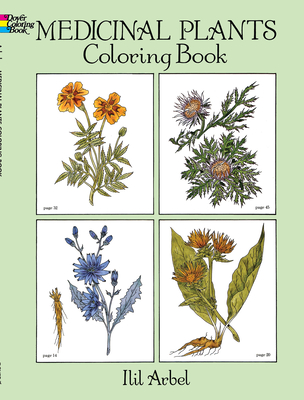 Medicinal Plants Coloring Book (Dover Nature Coloring Book) Cover Image