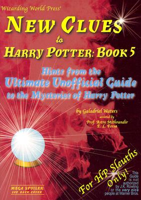New Clues to Harry Potter Cover