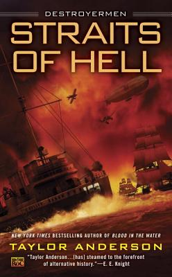 Cover for Straits of Hell (Destroyermen #10)