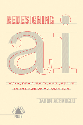 Cover for Redesigning AI (Boston Review / Forum)