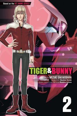 Tiger & Bunny, Vol. 2 Cover