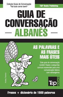 Guia de Conversação Português-Albanês e dicionário conciso 1500 palavras Cover Image