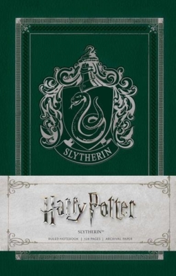 Harry Potter: Slytherin Ruled Notebook Cover Image