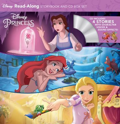 Disney Princess Read-Along Storybook and CD Boxed Set Cover Image