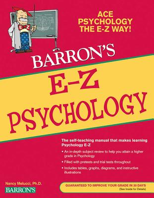 E-Z Psychology (Barron's Easy Way) Cover Image