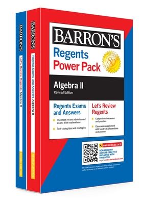 Regents Algebra II Power Pack Revised Edition (Barron's Regents NY) Cover Image