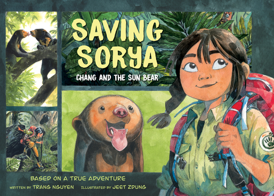 Saving Sorya: Chang and the Sun Bear Cover Image