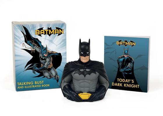 Batman: Talking Bust and Illustrated Book (RP Minis) Cover Image