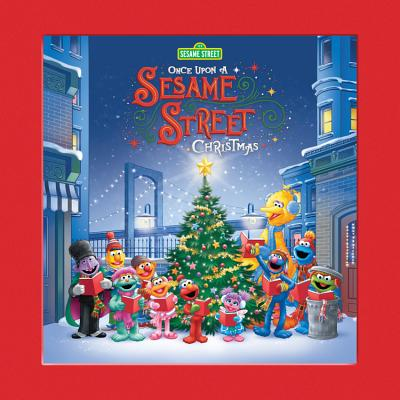 Cover for Once Upon a Sesame Street Christmas