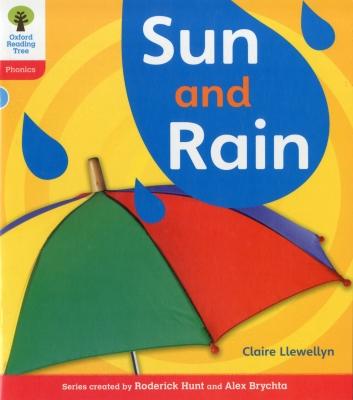Oxford Reading Tree: Level 4: Floppy's Phonics Non-Fiction: Sun and Rain Cover Image