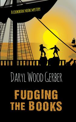 Cover for Fudging the Books (Cookbook Nook Mystery)