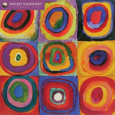Wassily Kandinsky Wall Calendar 2021 (Art Calendar) Cover Image