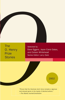 The O. Henry Prize Stories 2002 Cover
