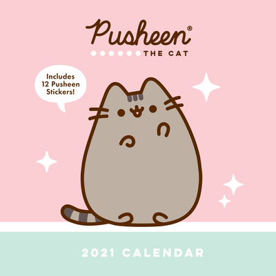 Pusheen 2021 Wall Calendar Cover Image