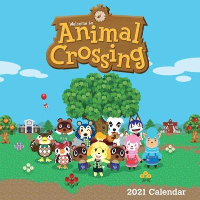 Animal Crossing 2021 Wall Calendar Cover Image